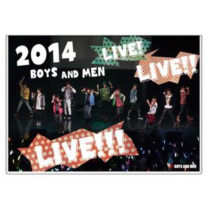 DVD 2014 BOYS AND MEN LIVE! LIVE!! LIVE!!!