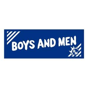 BOYS AND MEN スポーツタオル