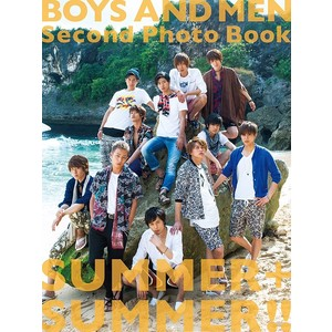 BOYS AND MEN Second Photo Book SUMMER+SUMMER!!