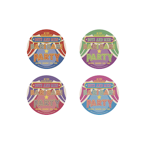 ホログラム缶マグネット(全4種)
