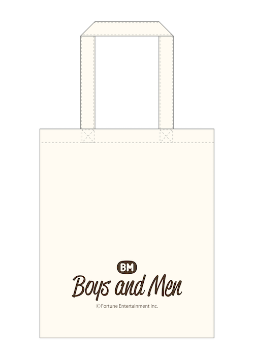 BOYS AND MEN エコバッグ